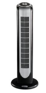 Bionaire BT16RBS-IN 40-Watt Remote Control Tower Fan (Black and Silver):